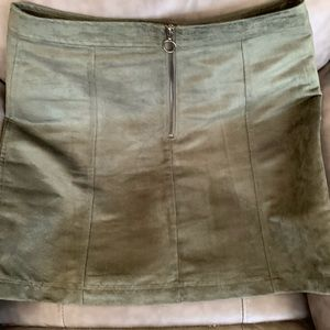 Old Navy Skirts - Suede Old Navy Skirts Size 10